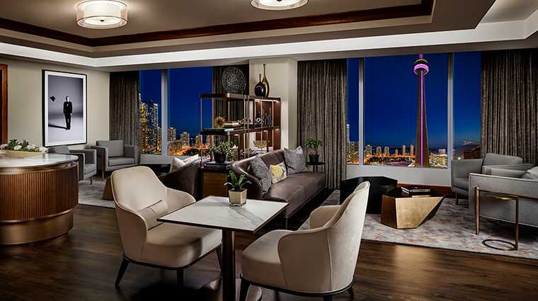 the ritz carlton toronto club lounge