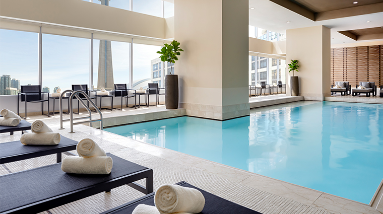 the ritz carlton toronto pool