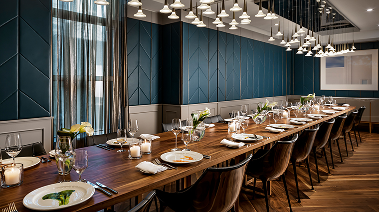 the ritz carlton toronto private dining