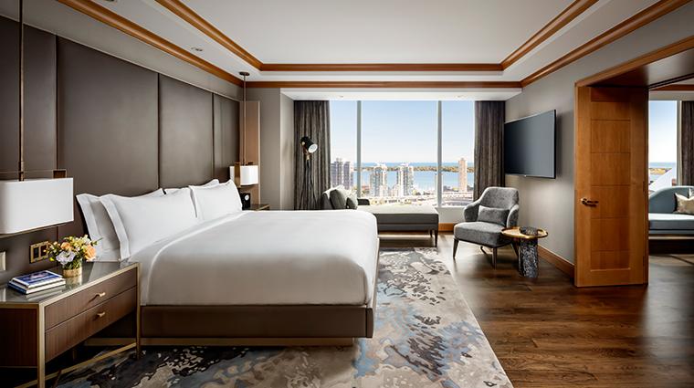 the ritz carlton toronto rc suite bedroom