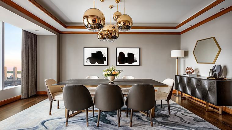 the ritz carlton toronto rc suite dining room
