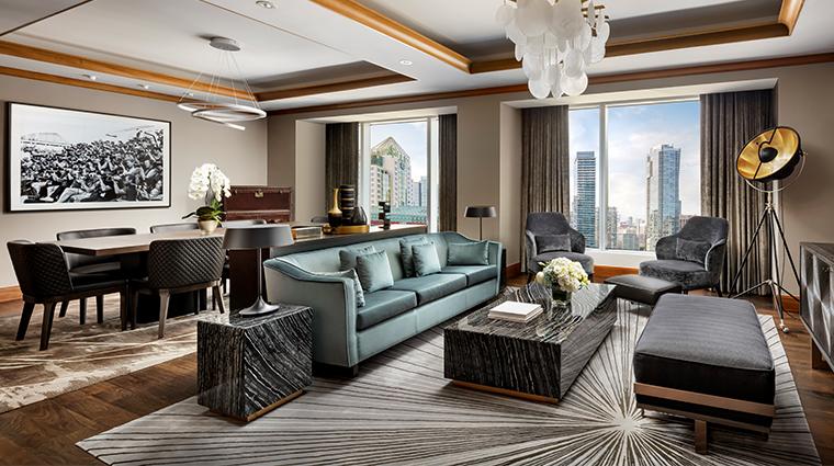 the ritz carlton toronto wellington suite living room