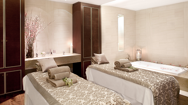 the ritz carlton vienna treatment suite