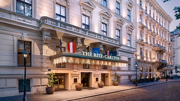 the ritz carlton vienna exterior