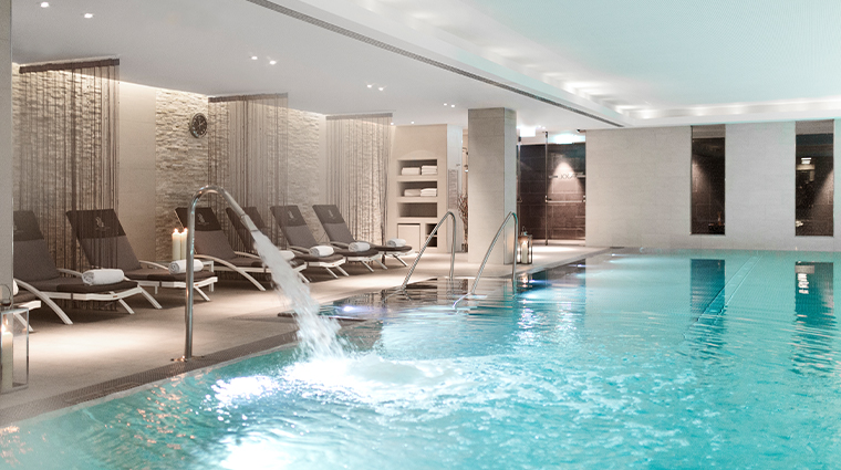 the ritz carlton vienna spa pool