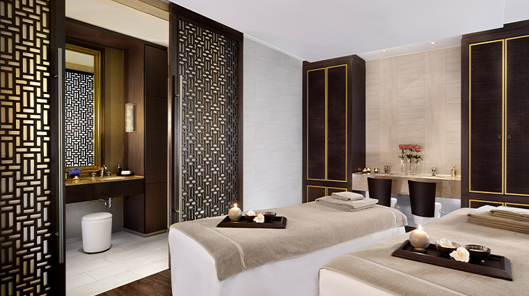 the ritz carlton vienna spa treatment room