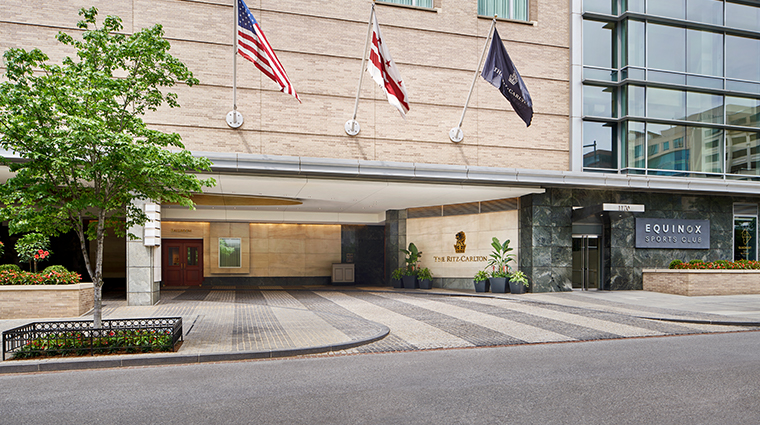 the ritz carlton washington dc exterior