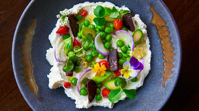 the ritz carlton washington dc westend bistro salad