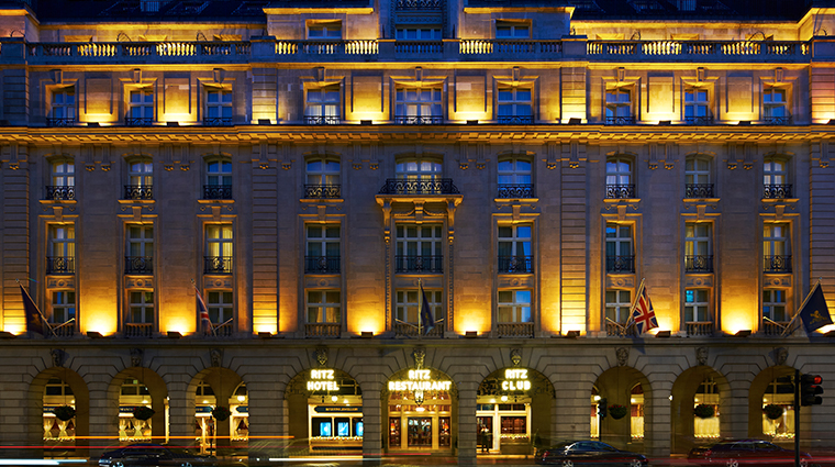 the ritz london exterior
