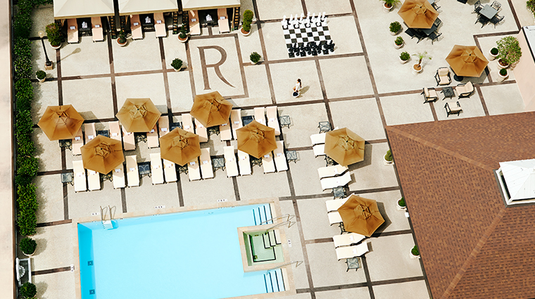 the roosevelt new orleans a waldorf astoria hotel rooftop pool