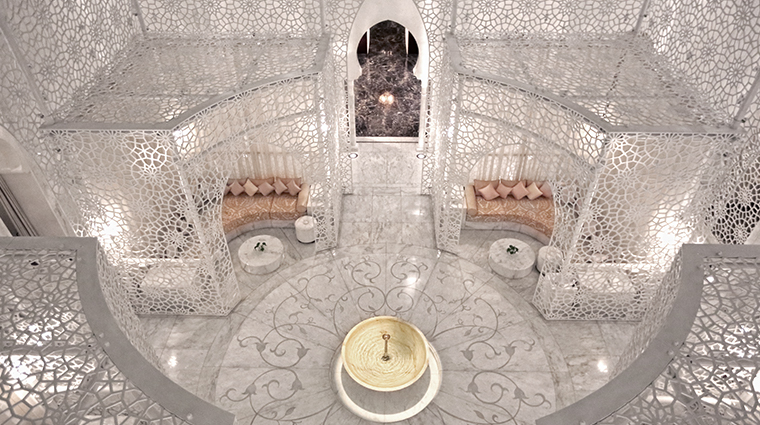 the royal mansour marrakech spa aerial view