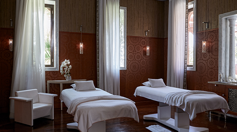 the royal mansour marrakech spa double treatment room