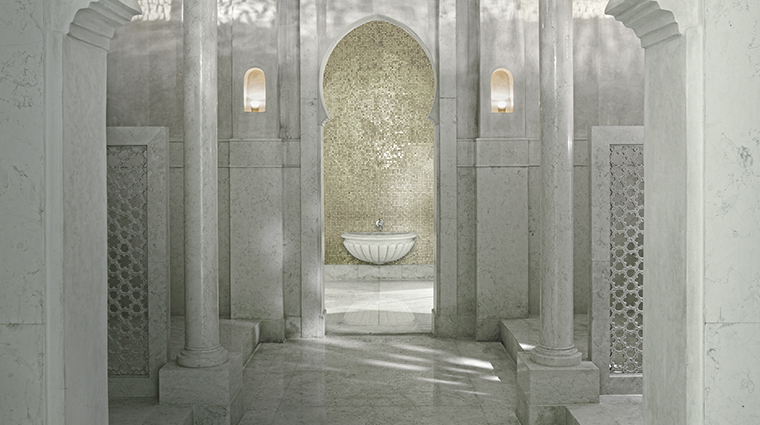 the royal mansour marrakech spa hammam