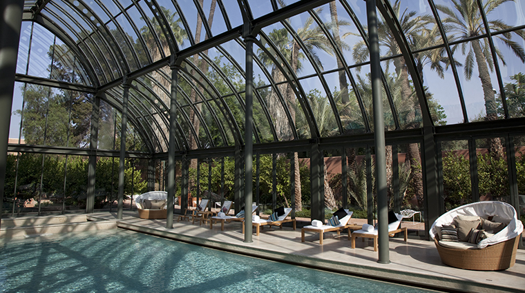 the royal mansour marrakech spa pool