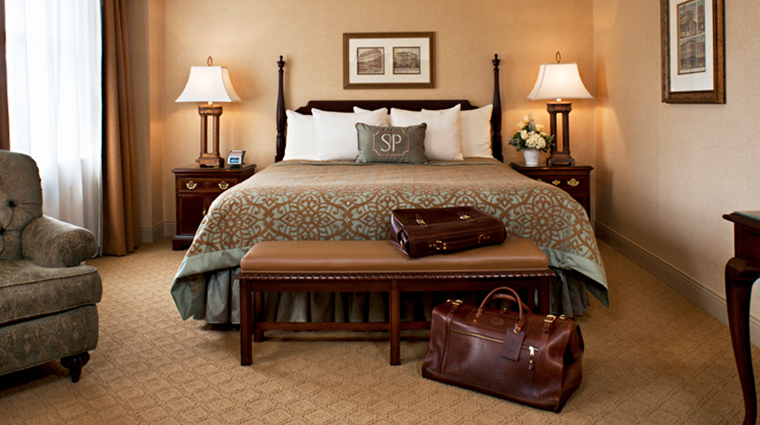 the saint paul hotel deluxe king room