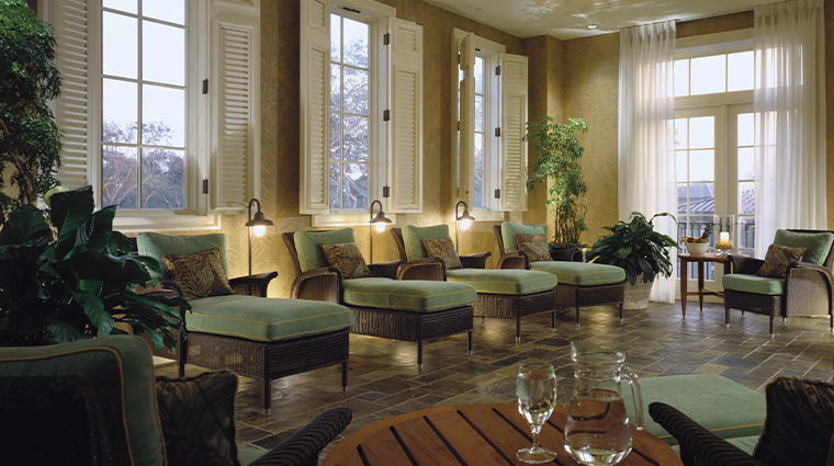 the sanctuary at kiawah island golf resort spa solarium