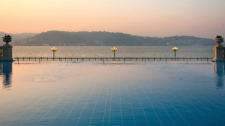 the sanitas spa wellness infinity pool