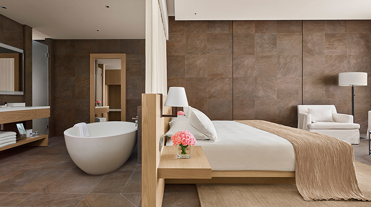 the sanya edition bedroom bath
