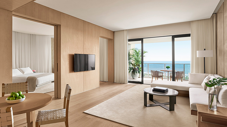 the sanya edition loft ocean front suite