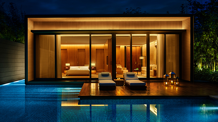 the sanya edition one bedroom villa pool