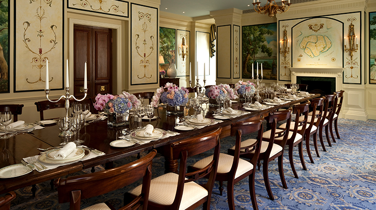 the savoy Gondoliers private dining