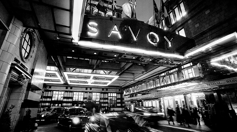 the savoy front