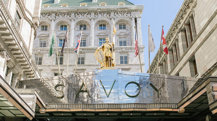 the savoy iconic sign