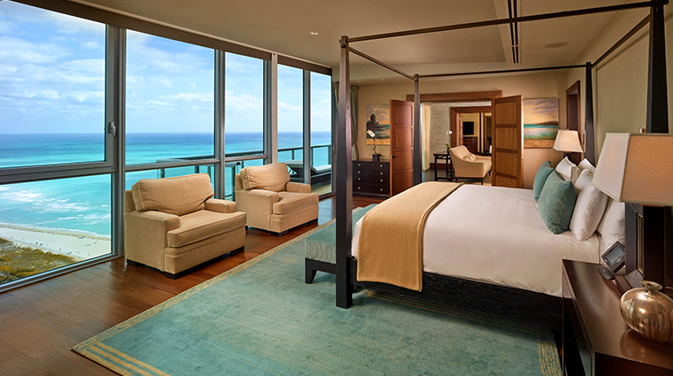 the setai miami beach penthouse bedroom