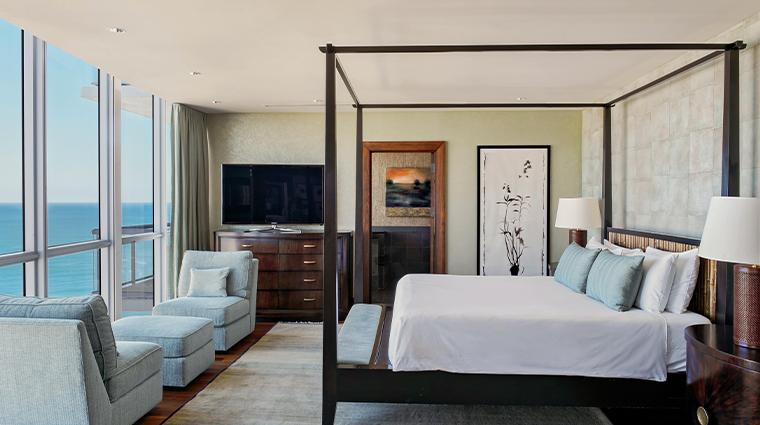 the setai miami beach penthouse bedroom