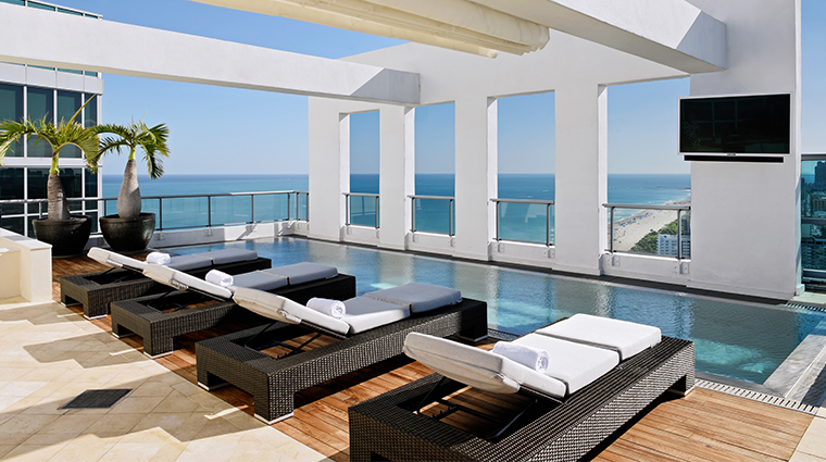 the setai miami beach penthouse pool