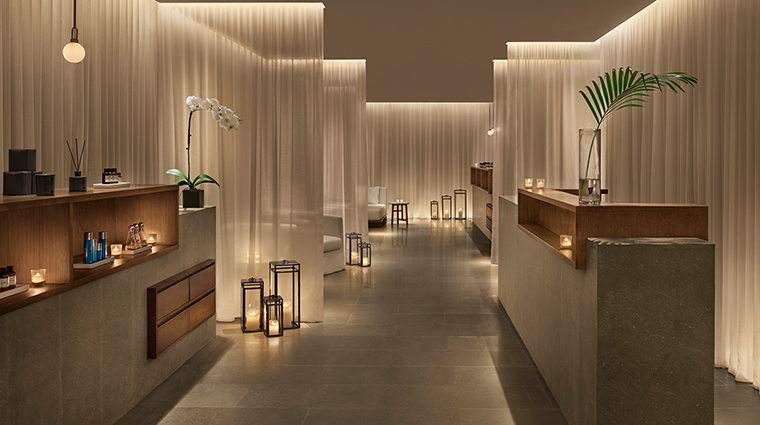 the shanghai edition reception spa