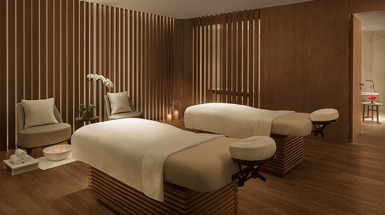 the shanghai edition treatment room spa