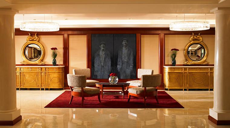 the shelbourne dublin a renaissance hotel reception