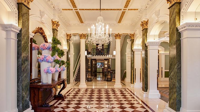 the shelbourne dublin a renaissance hotel lobby