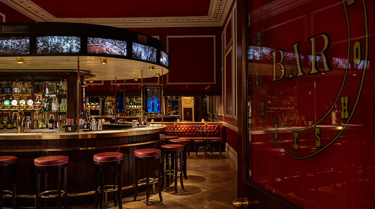 the shelbourne dublin autograph collection new horseshoe bar