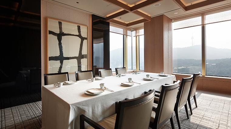 the shilla seoul LaYeon dining