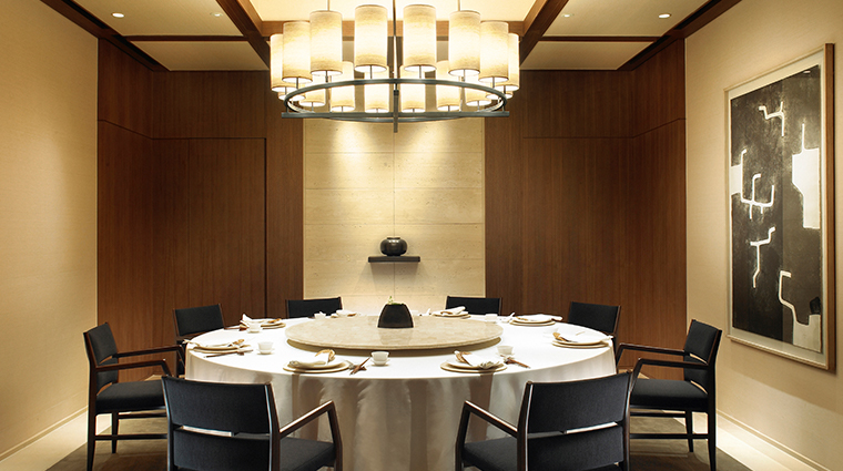 the shilla seoul Palsun private dining