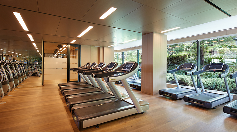 the shilla seoul fitness club