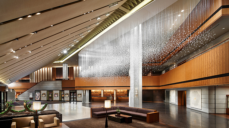 the shilla seoul main lobby