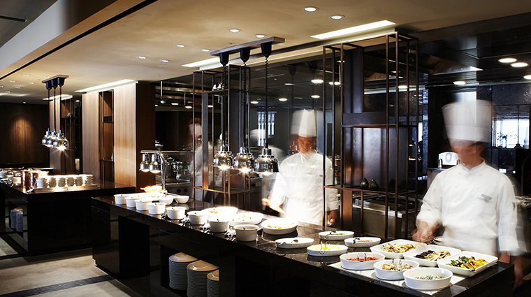 the shilla seoul the parkview kitchen