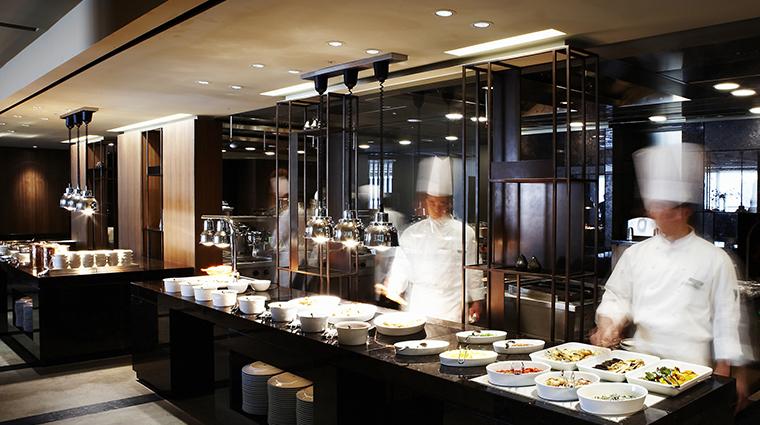 the shilla seoul the parkview kitchen