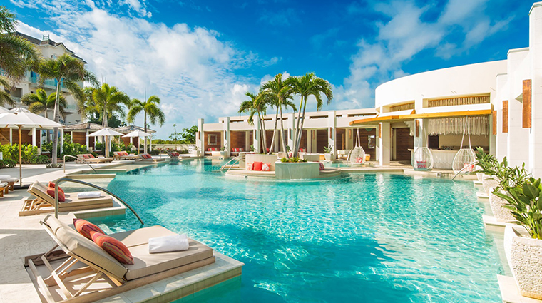 the shore club turks and caicos colonnade pool