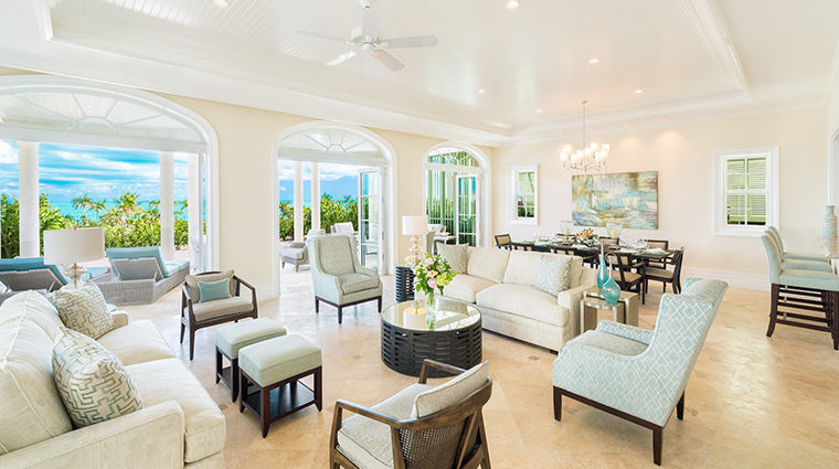 the shore club turks and caicos interior villa