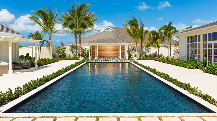 the shore club turks and caicos lap pool