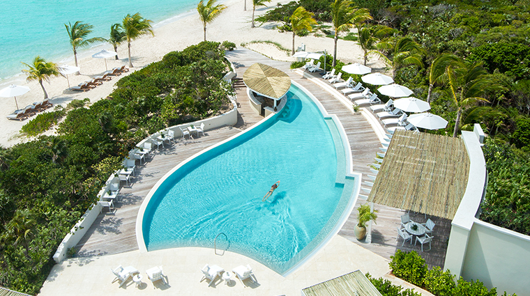 the shore club turks and caicos resort pool