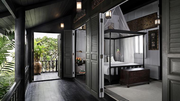 The Siam Bangkok cottage bedroom