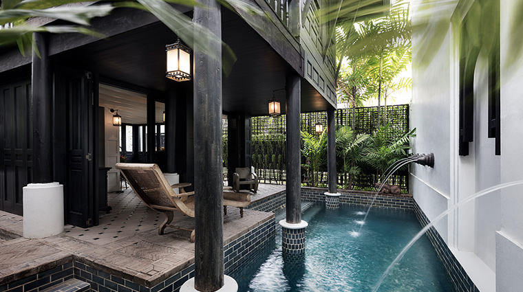 The Siam Bangkok cottage pool