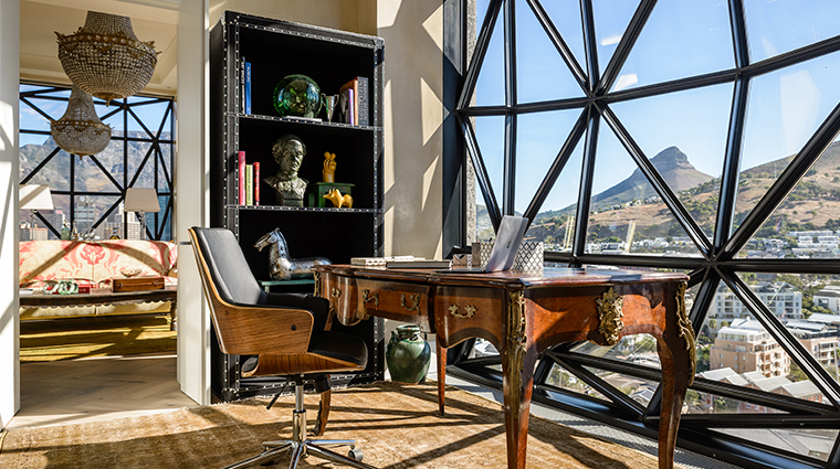 the silo hotel penthouse study