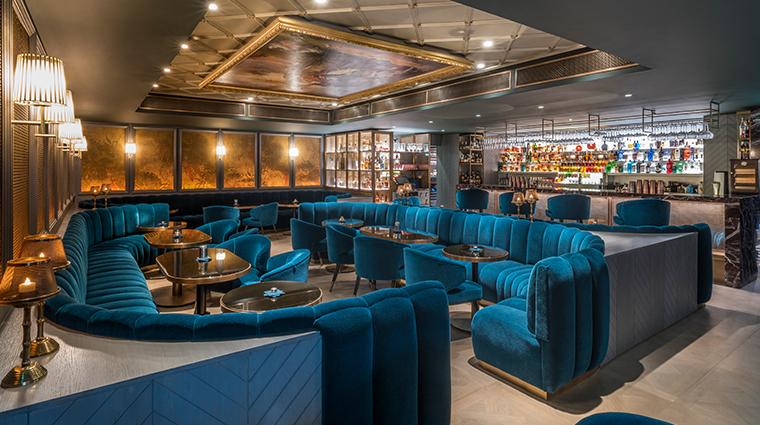 the sofitel london st james bar seating