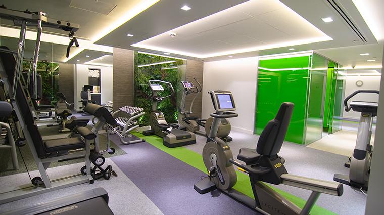 the sofitel london st james gym